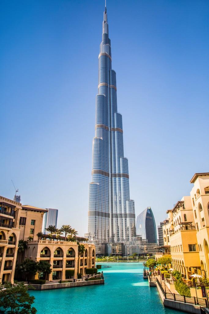 Burj Khalifa Front