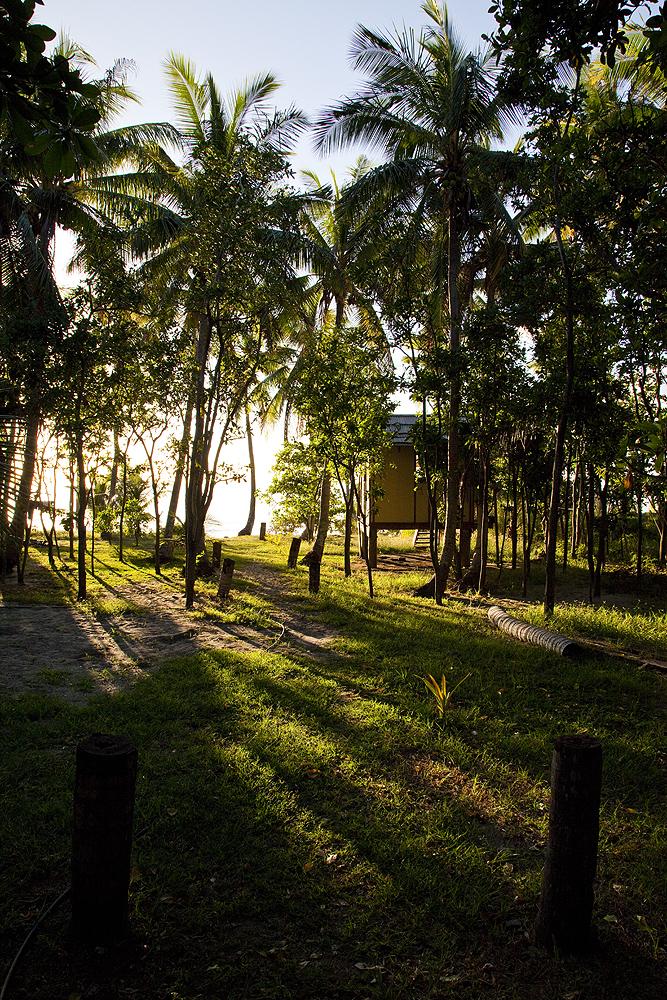 Unterkunft auf Fiji