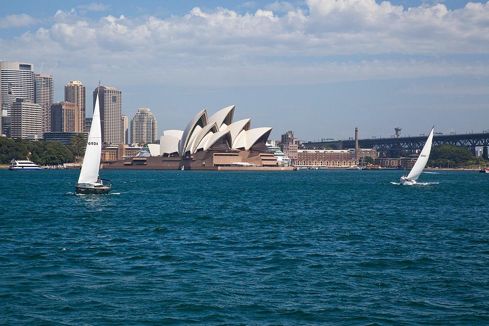 Hafenansicht Sydney