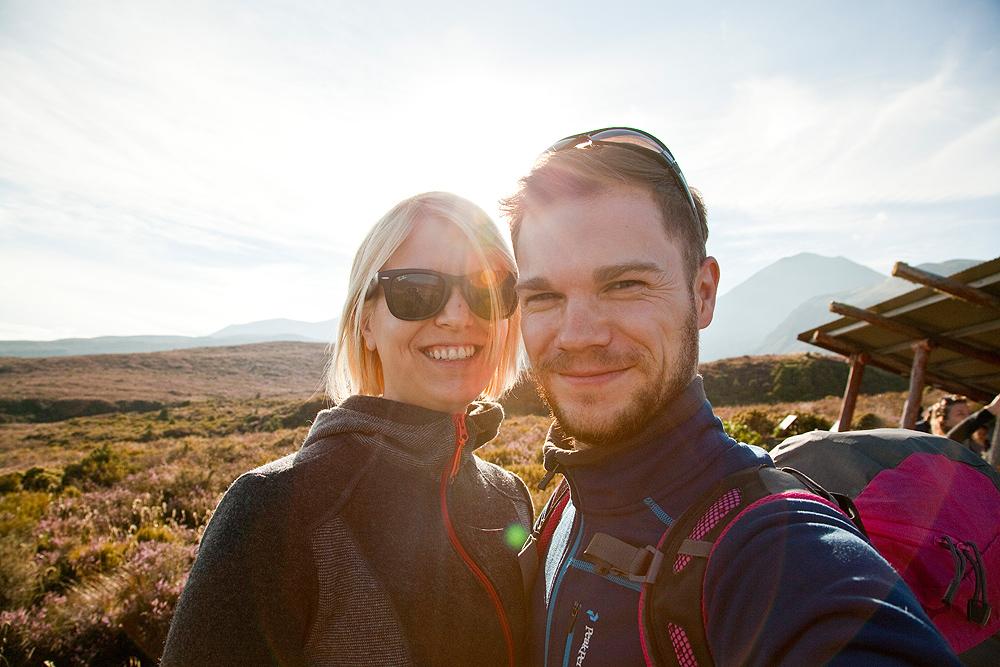 Die Ausreiser am Tongariro
