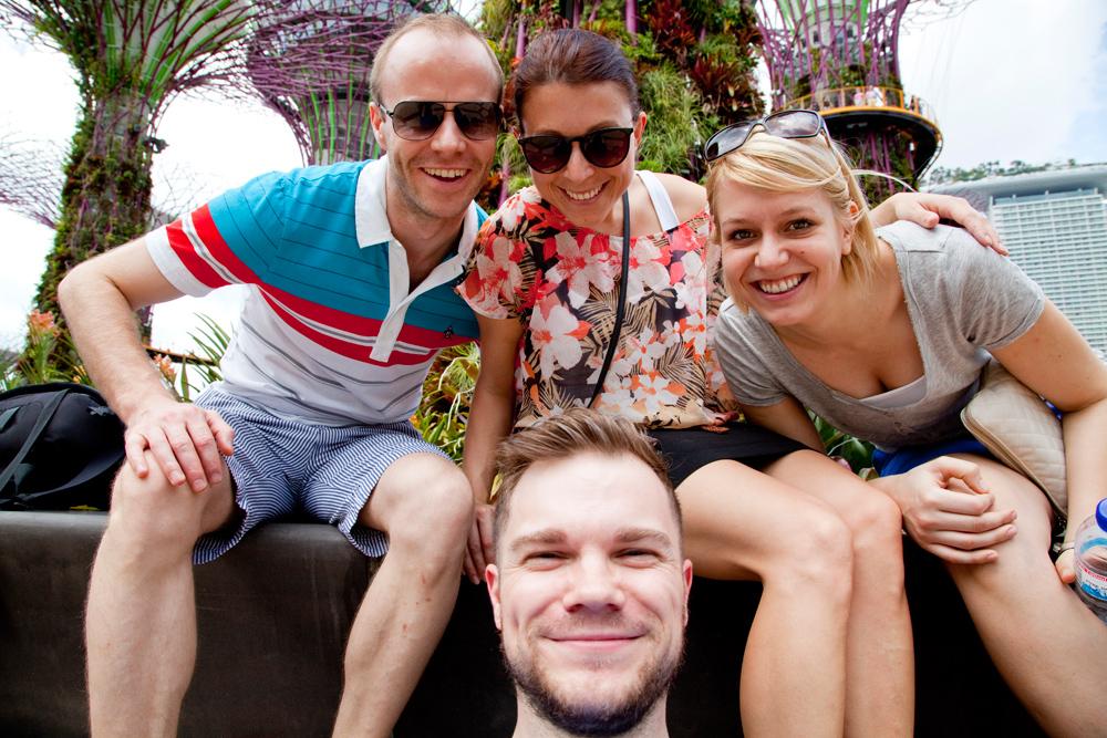 Selfie in den Gardens by the Bay