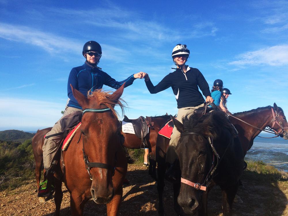 Horse Trek am Cape Farewell