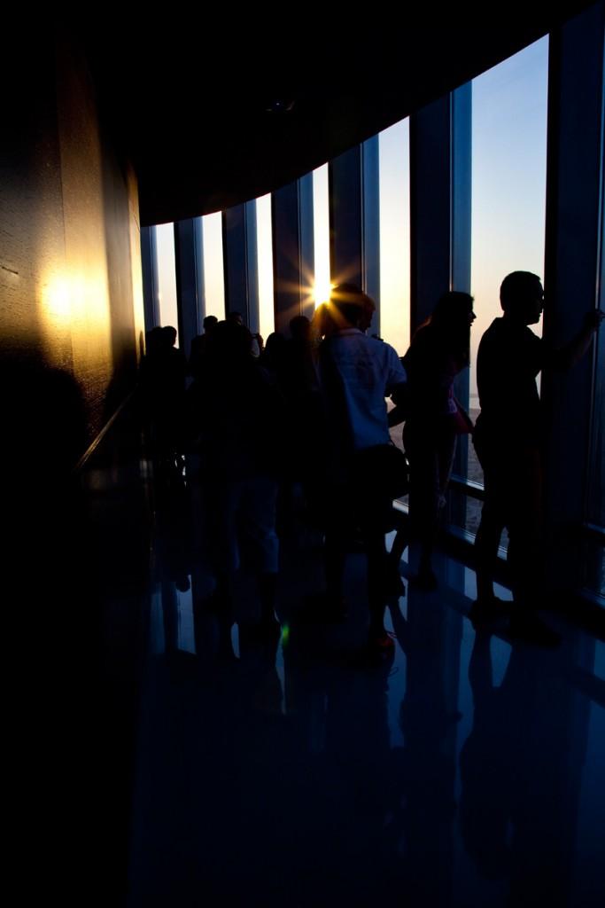 Sunset am Burj Khalifa