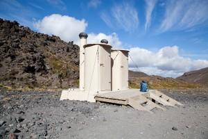 WC's am Tongariro Crossing
